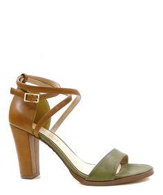 Loving this Khaki Rako Ankle-Strap Sandal on #zulily! #zulilyfinds