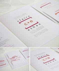 Math Wedding Invitations