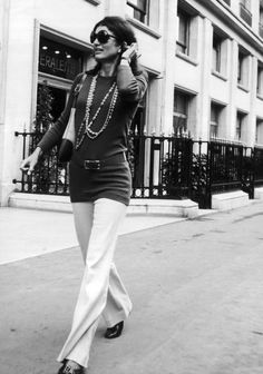 Jackie O in NYC, mid 1970s