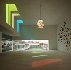 Centro Educacional El Chaparral, Alborote, Granada by Alejandro Muñoz Miranda Architect