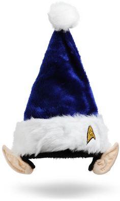 ThinkGeek :: Star Trek Spock Holiday Hat