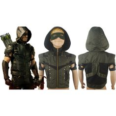 kids Green Arrow Season 4 Oliver Queen Jacket Hoodie Halloween Cosplay Costume Xmas Birthday Gift Anime Comic-con