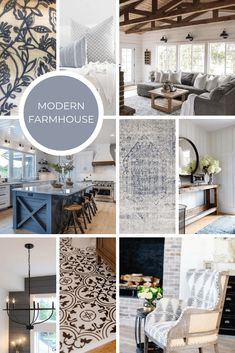 Interior Design Style: 6 Modern Styles and How to Use Them Master the mix of Modern and Farmhouse in your Kitchen, Living Room, Dining Room, or Bedroom! Learn the key elements of creating the perfect modern farmhouse Interior > Modern Farmhouse Finishes Interior Modern, Estilo Interior, Interior Design Themes, Modern Farmhouse Interiors, Interior Design Boards, Modern Farmhouse Design, Interior Styling, Interior Decorating, Modern Decor