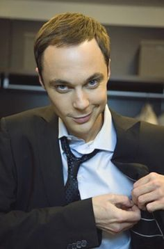 """Jim Parsons. Eye candy in a """"cute and can make me laugh every minute I'm with him"""" kind of way :)"""