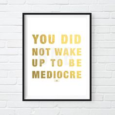 Mediocre Print Office Decor Motivational Poster Cool Print Black and White Art Gift for Boss modern office Boss babe Cool posters The post Mediocre Print Office Decor Motivational Poster Cool Print Black and White A appeared first on Decoration. Motivational Quotes For Depression, Inspirational Quotes, Motivational Posters For Office, Office Quotes, Motivational Sayings, Quote Posters, Modern Office Decor, Office Art, Office Ideas