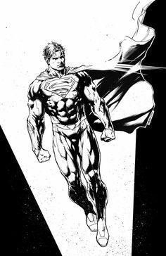 Superman by Jason Fabok. Justice League character designs.
