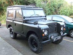 Matte Black Land Rover Series