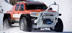 Toyota Tacoma turned into a Polar monster for South Pole Expedition