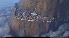 Fantasy city (production painting) by Steven Stahlberg | 2D | CGSociety