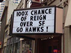 100% Chance!