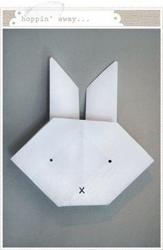 Miffy origami.