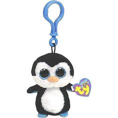 "This 3"" tall adorable penguin backpack buddy will add cool penguin flair to your bag or backpack. Of course it also comes with its authentic TY tag and an abundance of cuteness. If you're familiar wit"
