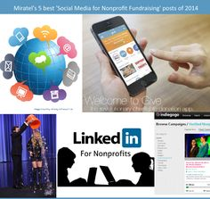 5 Best #social media for #nonprofit #fundraising Blog Posts of 2014 http://www.miratelinc.com/blog/5-best-social-media-for-nonprofit-fundraising-blog-posts-of-2014/ @miratel