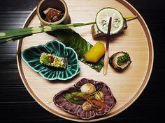 Small starters from HOSHINOYA Kyoto