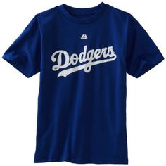 Los Angeles Dodgers Youth Majestic Official Wordmark T-Shirt - Blue  http://allstarsportsfan.com/product/los-angeles-dodgers-youth-majestic-official-wordmark-t-shirt-blue/?attribute_pa_size=small  100% Cotton Jersey Classic Fit Crew Neck Tee