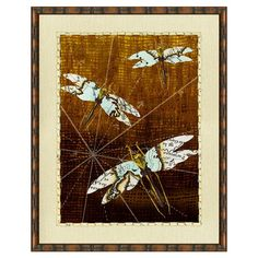 I pinned this Dragonfly World Framed Print from the Vintage Print event at Joss and Main!