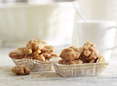 Diamond Cinnamon Glazed Walnuts