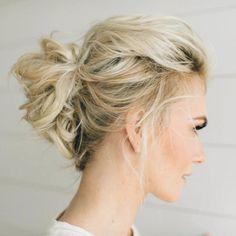 Hochsteck Frisuren Mittellanges Haar