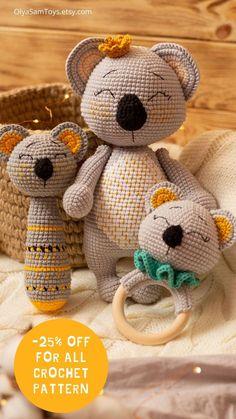 Crochet Toys Patterns, Amigurumi Patterns, Stuffed Toys Patterns, Pet Toys, Baby Toys, Kids Toys, Crochet Bebe, Crochet For Kids, Crochet Storage