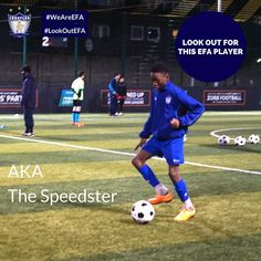 Look out for this EFA player - Combining amazing technique with mindblowing speed, he could be the Flash of London's youth football scene!  #LookOutEFA #WeAreEFA #TeamEFA #EFAfamily #EFALondon #EFAhallOfFame ⚽️ #Football #LondonAcademy #YouthFootball #FootballTraining #FootballLondon #London
