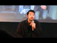 Misha talking about his underwear gift to the cast & crew that has Jared & Jensen's faces on them (JIB 3)