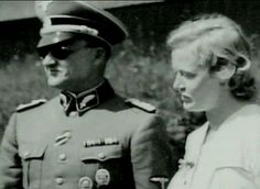 "Karl and Ilse Koch.  Karl was Commandant of Sachsenhausen Concentration Camp, then moved to Buchenwald.  and finally to Majdanek.  He was executed by the Nazis for theft during the war.  His wife, Isle, ""Bitch of Buchenwald"", is infamous for her collection of items made from the tanned skin of inmates.  She rode through the camps selecting prisoners whose tattoos she fancied, had them killed, and used the skin for lampshades, purses, and other items.  She committed suicide in prison in 1967."