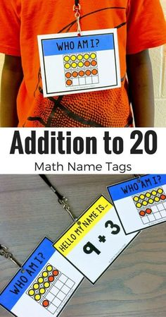 5 Ways to Have Fun With Math Name Tags - Mr Elementary Math