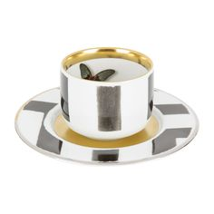 Buy Christian Lacroix Sol Y Sombra Coffee Cup & Saucer | Amara