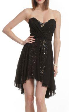 #Black Sparkle Dress / mark   james  black dresses #2dayslook #new style #blackstyle  www.2dayslook.com