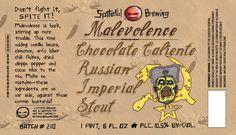 craft beer labels spiteful - Google Search