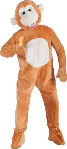 mascot costume: monkey mascot