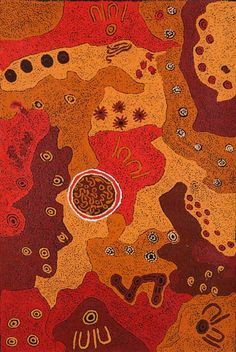 Tjampawa Stevens - 'Nyapari Area'