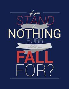 Aaron Burr, sir... #hamilton