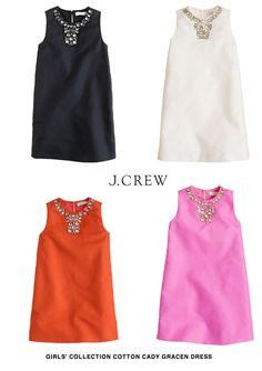 I just died... 60's shift dresses for Girl's at J.Crew {expensive but adorable!} Kids Fashion Boy, Girl Fashion, Little Girl Dresses, Girls Dresses, Preppy Style, My Style, Shift Dresses, Stylish Kids, Work Attire