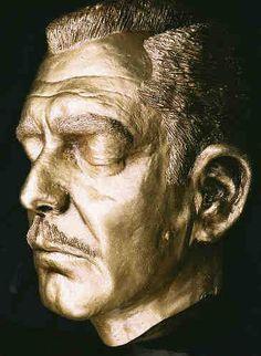 Clark Gable Life Mask
