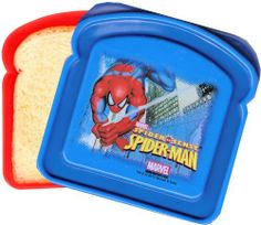 1 X Spiderman 2012 Sandwich Keeper Sandwich Box, Staying Organized, Kitchen Storage, Safe Food, Home Kitchens, Spiderman, Geek Stuff, Nerd Geek, Dining