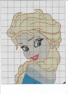 Queen Elsa Disney Frozen Chart by LittleKissesCrafts