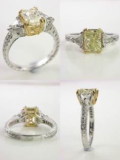 47 Best Jewlery Images On Pinterest Art Deco Wedding Rings