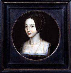 On 19 May an unprecedented event occurred in England. Queen Anne Boleyn, second consort of Henry VIII of England, was beheaded withi. Tudor History, British History, Women's History, Family History, Anne Boleyn, Tudor Dynasty, School Portraits, King Henry Viii, Miniature Portraits