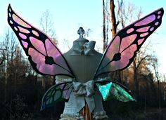 Fairy Wings Wedding Halloween Costume Faerie by WhimsyEverlasting, $75.00