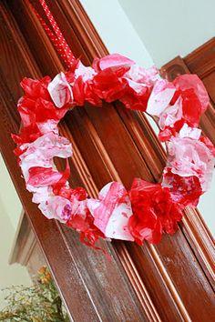 valentines wreath easy