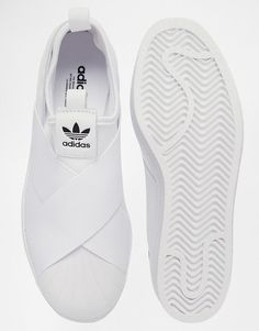 45fe2cc01 Image 3 ofadidas Originals Superstar Slip On White Trainers Adidas Shoes  Onli - Adidas White Sneakers