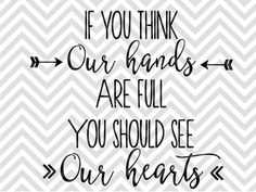 Si crees que nuestras manos nuestro por KristinAmandaDesigns