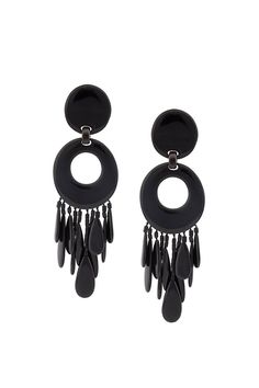 {Monies / 03 jewelry / 02 earring} Linked Tassel Clip On Earrings