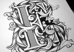 Typografie & Ornaments by Greg Coulton. Pin by www.povetx.de
