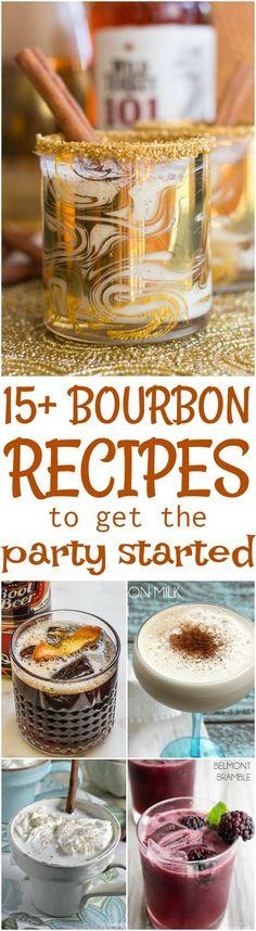 15+ Bourbon Cocktail Recipes to get the Party Started https://www.callmepmc.com/15-bourbon-cocktail-recipes-to-get-the-party-started/?utm_campaign=coschedule&utm_source=pinterest&utm_medium=Paula%20%7C%20CallMePMc.com&utm_content=15%2B%20Bourbon%20Cocktail%20Recipes%20to%20get%20the%20Party%20Started