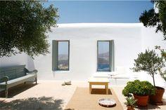 Sencillez y encanto en una casa de Mykonos chicanddeco
