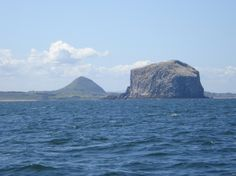 Bass Rock and North Berwick Law by Rabbie