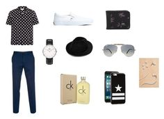 """Men at style"" by daisygirl-362 ❤ liked on Polyvore featuring Yves Saint Laurent, Paul Smith, Vans, Daniel Wellington, Ray-Ban, Givenchy, Calvin Klein, Caeden, men's fashion and menswear"