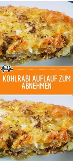 Kohlrabi casserole to lose weight - the kitchen - Kochen - Kohlrabi casserole to lose weight – the kitchen Best Picture For rezepte gesund For Your Taste - Ab Diet, Calorie Diet, Dog Food Recipes, Vegetarian Recipes, Recipes Dinner, Diet Recipes, Avocado Fat, Evening Meals, Food And Drink